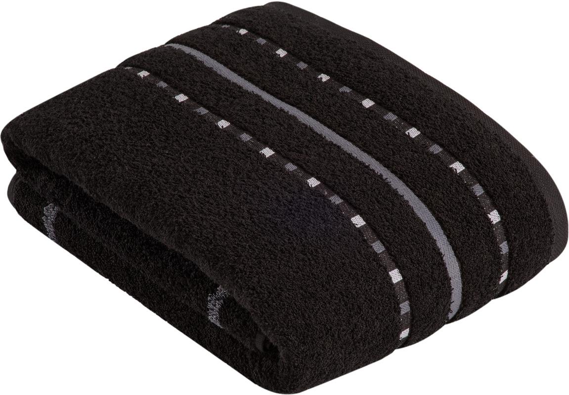 vossen handtuch atletico schwarz badaccessoires handtuch. Black Bedroom Furniture Sets. Home Design Ideas
