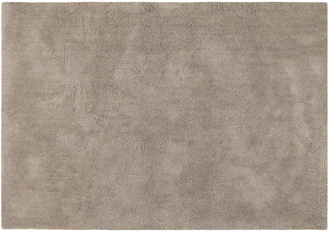 Wissenbach softtouch taupe teppich hochflor teppich bei for Schoner wohnen sofakissen