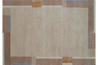 Nepal-Teppich, Ghorka exclusive, 5001, beige, aus Neuseeland-Wolle, 10 mm Florh�he