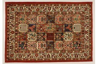 Oriental Collection Bakhtiar-Felder multicolour 76066, Perser-Teppich