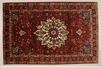 Oriental Collection Bakhtiar rot 76039, Perser-Teppich