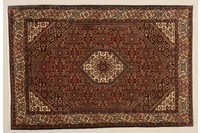 Oriental Collection Bidjar-Sand rot 76005, Perser-Teppich