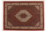 Oriental Collection Bidjar m.Seide rot 75973, Orient-Teppich