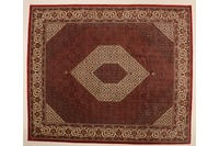 Oriental Collection Bidjar m.Seide rot 75992, Perser-Teppich