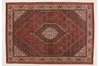Oriental Collection Bidjar m.Seide rot 76031, Perser-Teppich