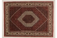 Oriental Collection Bidjar m.Seide rot 76032, Perser-Teppich