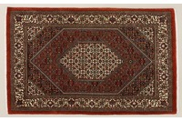 Oriental Collection Bidjar m.Seide rot 76072