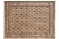 Oriental Collection Jammu Herati sand 100 x 100 cm rund