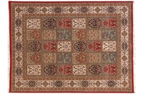 Oriental Collection Jewel Field rot 70 x 140 cm