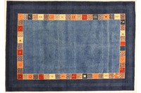 Oriental Collection Rissbaft blau 205 x 297 cm