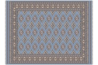 Oriental Collection Sare blau 80 x 125 cm