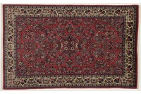 Oriental Collection Sarough Teppich, Perser, reine Schurwolle, 130 x 210 cm