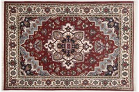 Oriental Collection Perser Teppich, Imperial Heriz, Heriz, red /  cream