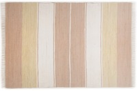 THEKO Teppich Happy Design, Stripes, beige