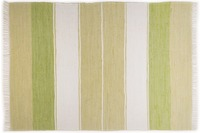 THEKO Teppich Happy Design, Stripes, green