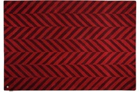 Tom Tailor Teppich Country - Zigzag red