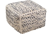 "Tom Tailor Pouf Smooth Comfort ""Diamond"", grey"