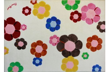Andiamo Kinder-Teppich Flower Power