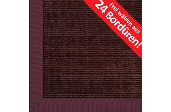 Astra Sisal-Teppich, Salvador, aubergine mit Astracare