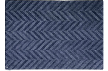 Tom Tailor Teppich Country - Zigzag blue