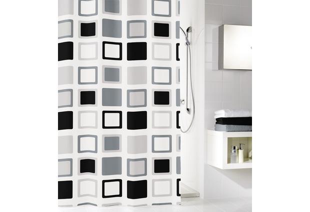 kleine wolke duschvorhang clipper anthrazit 180 x 200 cm breite x h he bei tepgo kaufen. Black Bedroom Furniture Sets. Home Design Ideas