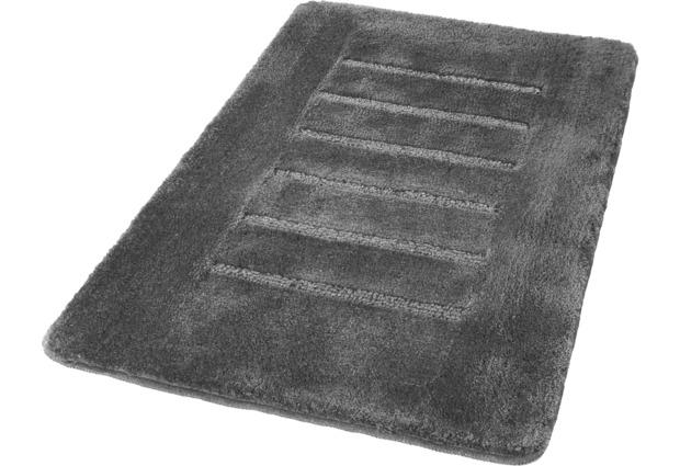 Kleine Wolke Badteppich Jewel GrauSilber grau Badteppiche bei tepgo