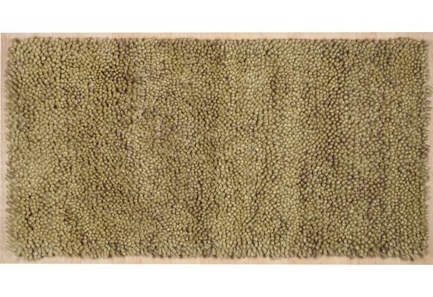 marble uni gr n beige 4 hochflor hochflor teppich bei. Black Bedroom Furniture Sets. Home Design Ideas