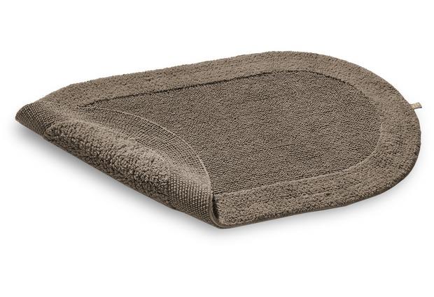 rhomtuft badteppich exquisit taupe braun badteppiche bei tepgo kaufen versandkostenfrei. Black Bedroom Furniture Sets. Home Design Ideas