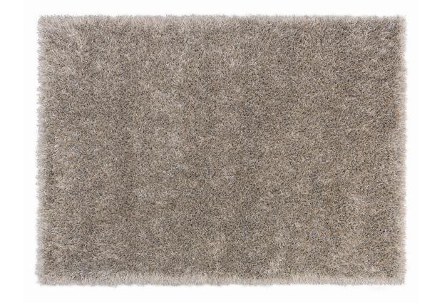 sch ner wohnen hochflor teppich feeling creme silber grau hochflor teppich bei tepgo kaufen. Black Bedroom Furniture Sets. Home Design Ideas