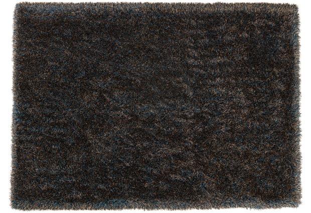 sch ner wohnen hochflor teppich pogo t rkis gold hochflor teppich bei tepgo kaufen. Black Bedroom Furniture Sets. Home Design Ideas