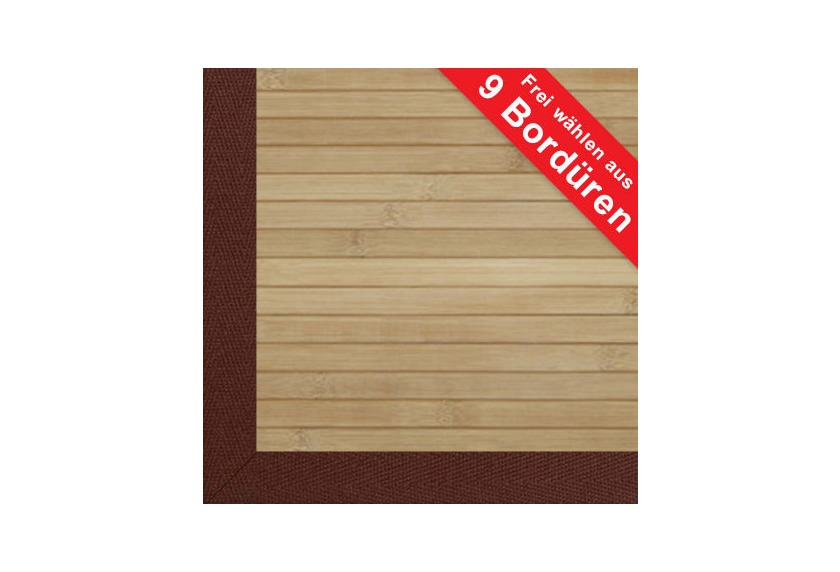 Astra Bambus Macao Uni Bordure Teppich Bei Tepgo Kaufen