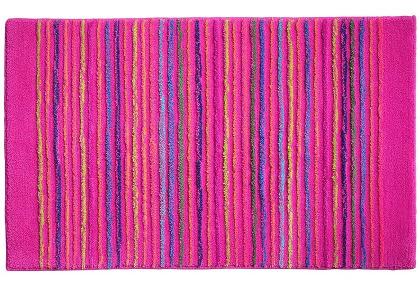 Esprit Badteppich Cool Stripes Esp 0232 05 Rosa Pink Badteppiche Bei