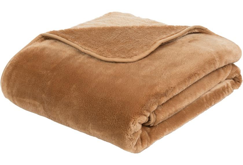 Gozze Premium Cashmere Feeling Decke Sand Wohnen Einrichten
