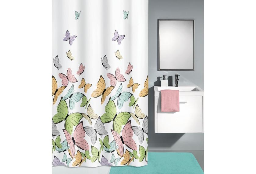 Kleine Wolke Duschvorhang Butterflies Multicolor 180 X 200 Cm