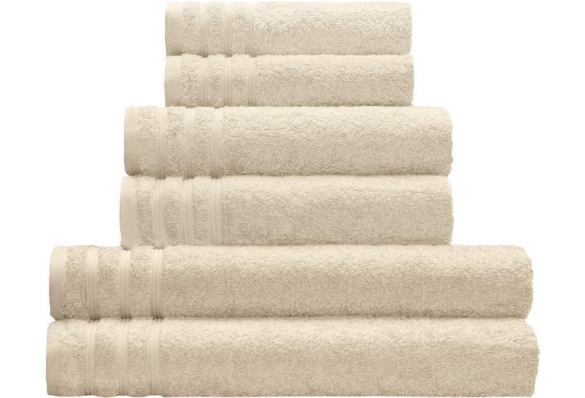 Kleine Wolke Handtuch Royal, Sandbeige Badaccessoires Handtuch ...