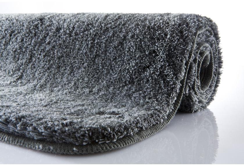 Kleine Wolke Badteppich Relax Anthrazit Rutschhemmender Rucken