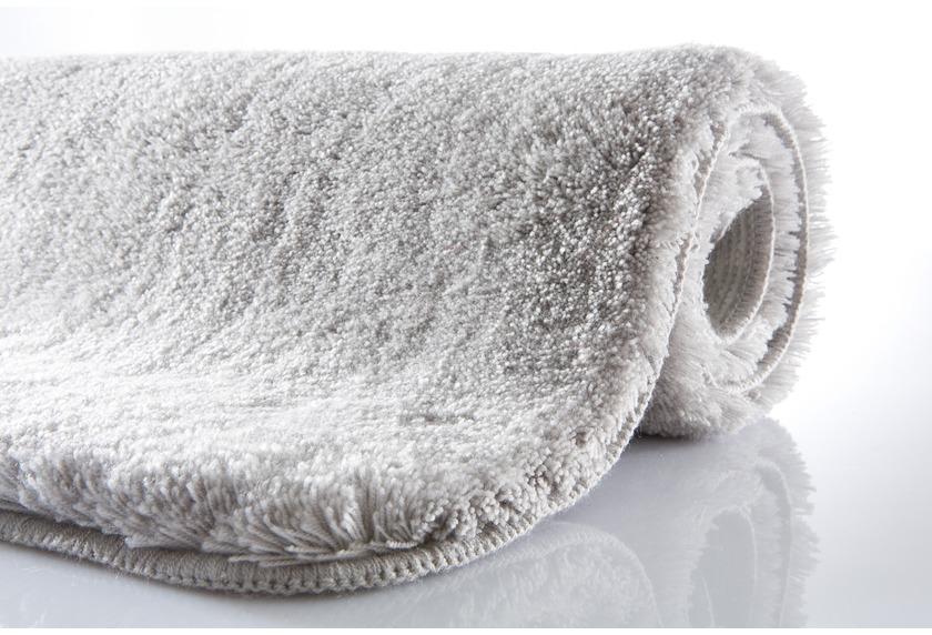 Kleine Wolke Badteppich Relax Grau rutschhemmender Rücken Öko-Tex  zertifiziert