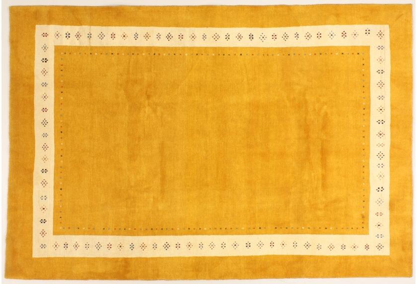 Oriental Collection Rissbaft Gelb 99709 Orient Teppich Rissbaft
