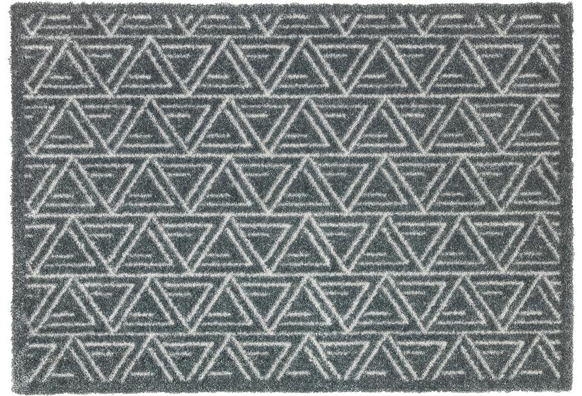 Schoner Wohnen Kollektion Fussmatte Manhattan Design 005 Farbe 040 Triangle Grau Fussmatten Bei Tepgo Kaufen Versandkostenfrei